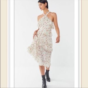 NWT Urban Outfitters Ruffle Dress